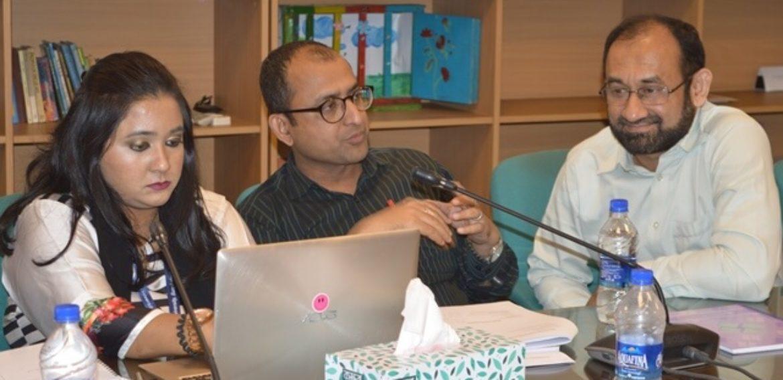Workshop on Improvement Plan Held at IQAC, IUB
