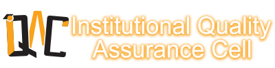 INSTITUTIONAL QUALITY ASSURANCE CELL - Just another WordPress site