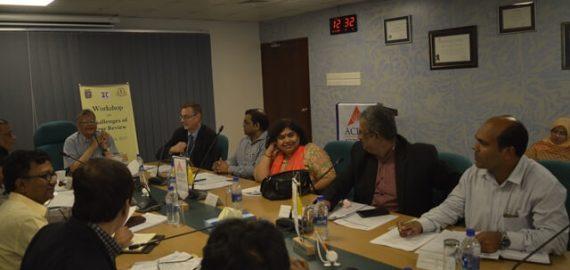 Workshop on Challenges of Peer Review Held at IQAC, IUB
