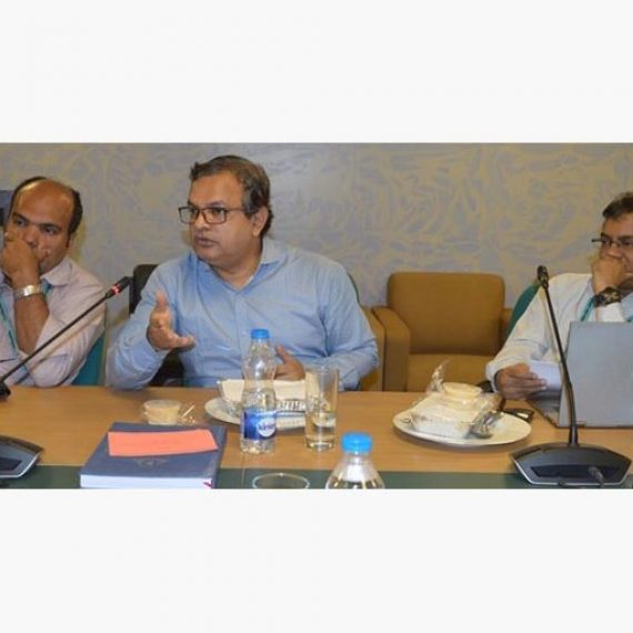 Discussion on Post-Self-Assessment Improvement Plan (PSAIP) held at IQAC, IUB